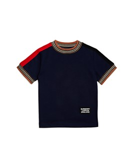 Burberry - Boys' Icon Stripe Tee - Little Kid, Big Kid