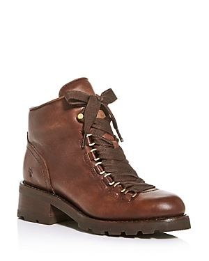 Frye Boots WOMEN'S ALTA HIKER LACE-UP BOOTIES