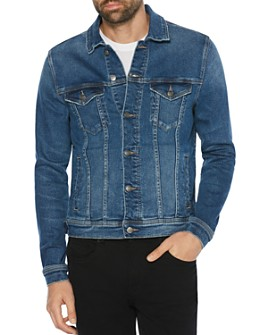 Original Penguin - Rampage Slim Fit Denim Jacket in Aged Vintage