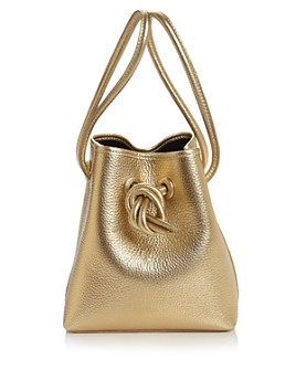 VASIC - Bond Small Leather Bucket Bag