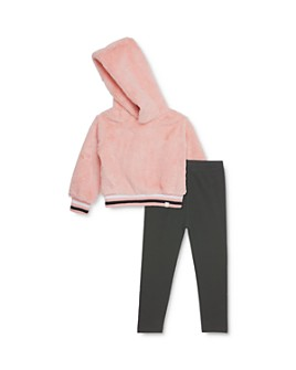 Sovereign Code -  Girls' Helga Faux Fur Hoodie & Alana Leggings Set - Baby