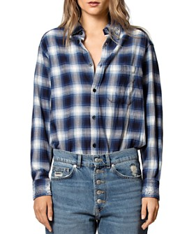 Zadig & Voltaire - Tais Plaid Shirt