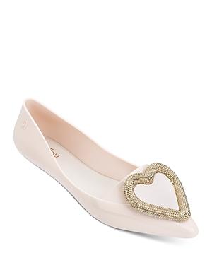 Melissa Women\\\'s Pointy Heart Flats