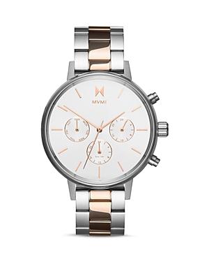 Mvmt Nova Solis Link Bracelet Watch, 38mm
