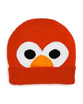 Isaac Mizrahi Loves Sesame Street - Unisex Knit Elmo Hat - 100% Exclusive