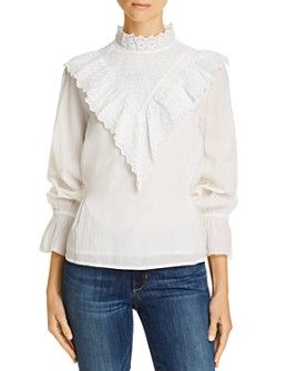 Notes du Nord - Nima Eyelet Lace Blouse