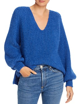 Eleven Six - Tess Alpaca-Blend High/Low Sweater