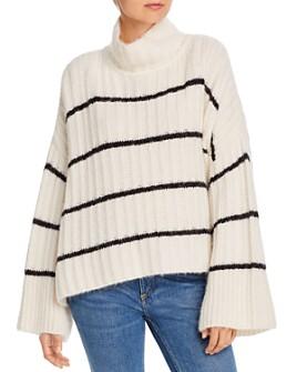 Eleven Six - Talia Striped Poncho Sweater