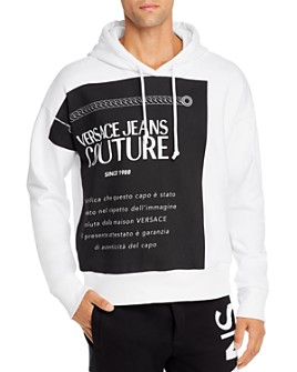 Versace Jeans Couture - Patch Hooded Sweatshirt