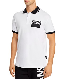 Versace Jeans Couture - Logo Patch Regular Fit Polo