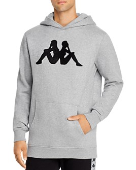 KAPPA - Authentic Dave Logo Appliqué Hooded Sweatshirt