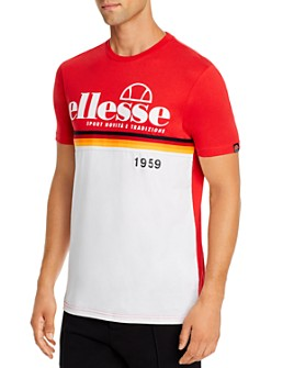 ellesse - Brescia Color-Block Retro Tee