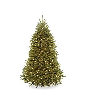 National Tree Company - 7.5 ft. Dunhill® Fir Tree with Dual Color® LED Lights & PowerConnect™