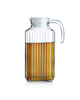 Luminarc - Quadro Glass Pitcher with Lid