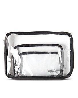 Baggallini - Clear Travel Pouch Set