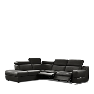 Nicoletti Roberto 3-Piece Motion Sectional - Left-Facing Corner - 100% Exclusive