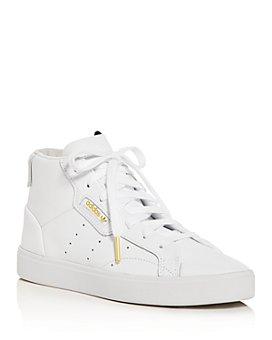 Adidas - Women's Sleek Mid-Top Sneakers
