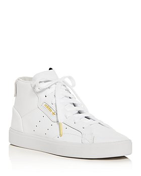 Adidas - Women's Sleek Mid-Top Sneakers