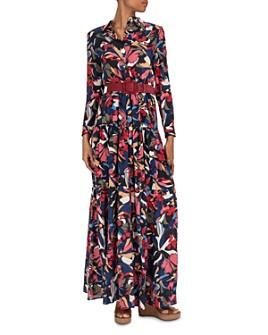 ba&sh - Cora Floral Maxi Shirt Dress
