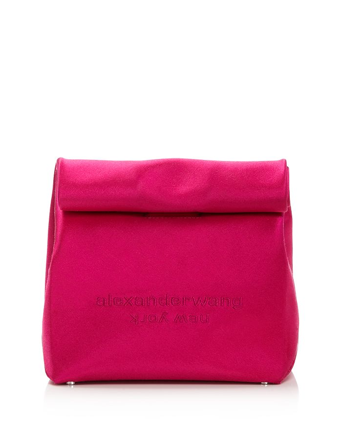 Alexander Wang Clutch SATIN LUNCH BAG CLUTCH