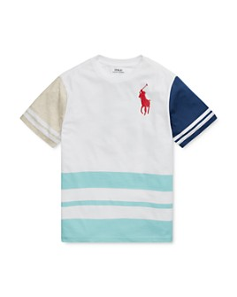Ralph Lauren - Boys' Color-Block Graphic Tee - Big Kid