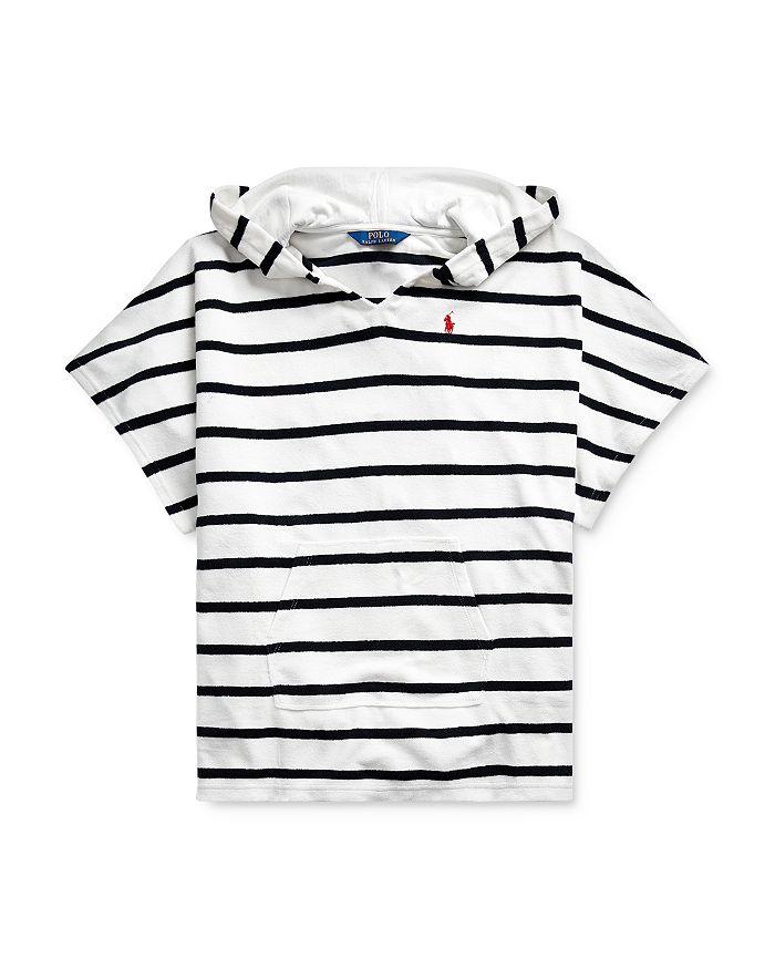 Ralph Lauren - Girls' Striped Terry Swim Cover-Up - Big Kid