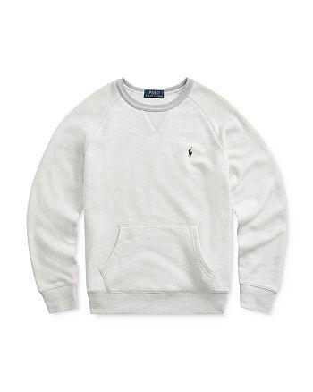 Ralph Lauren - Boys' French Terry Sweatshirt - Big Kid