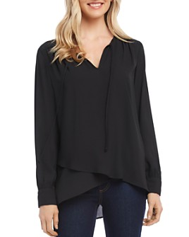 Karen Kane - Tie-Neck Crossover Top