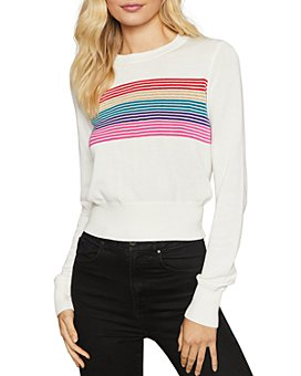 Spiritual Gangster - Nikki Rainbow-Stripe Sweater