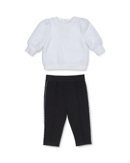 Habitual Kids - Girls' Kori Fuzzy Sweater & Ponte Pants Set - Baby