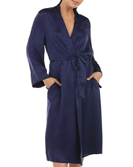 Papinelle - Long Silk Robe
