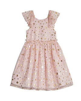 Pippa & Julie - Girls' Foil Star Print Dress - Baby