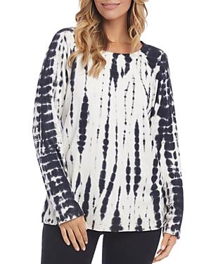 Karen Kane T-shirts TIE-DYED SWEATSHIRT