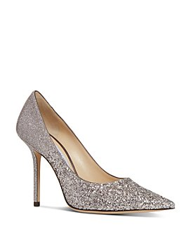 Jimmy Choo - Women's Love 100 Glitter Pumps