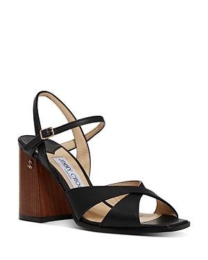 Jimmy Choo Sandals WOMEN'S JOYA BLOCK HEEL SANDALS