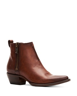 Frye - Women's Sacha Moto Leather Booties