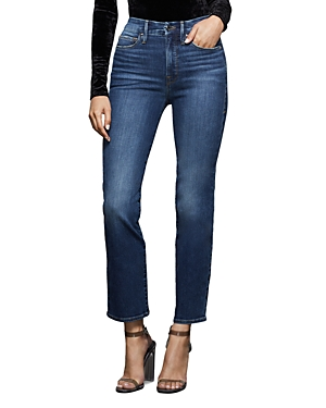 Good American Good Straight Jeans in Blue358-Women