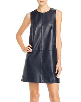 7 For All Mankind - Leather Mini Dress
