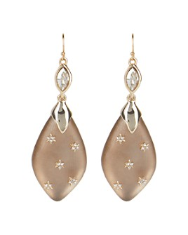 Alexis Bittar - Crystal & Lucite Drop Earrings