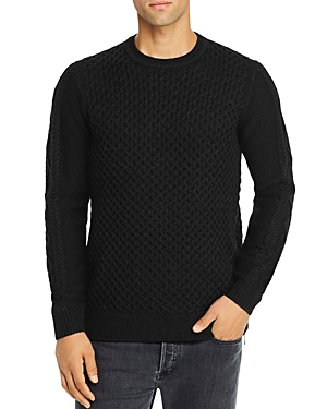 Karl Lagerfeld Paris Slim-Fit Crewneck Sweater-Men