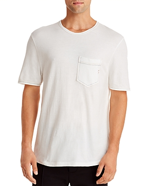 Billy Reid Contrast Stitch Ringer Tee
