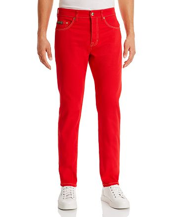 Versace Jeans Couture - Couture Slim Fit Jeans in Racing Red