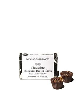 Eat Chic Chocolates - Dark Chocolate Hazelnut Butter Cups