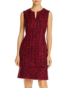 KARL LAGERFELD PARIS - Tweed Sheath Dress