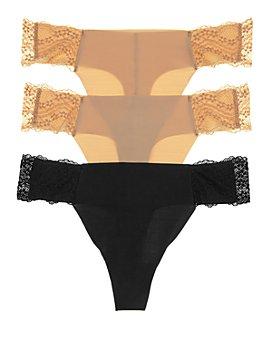 b.tempt'd by Wacoal - B. Bare Thongs, Set of 3