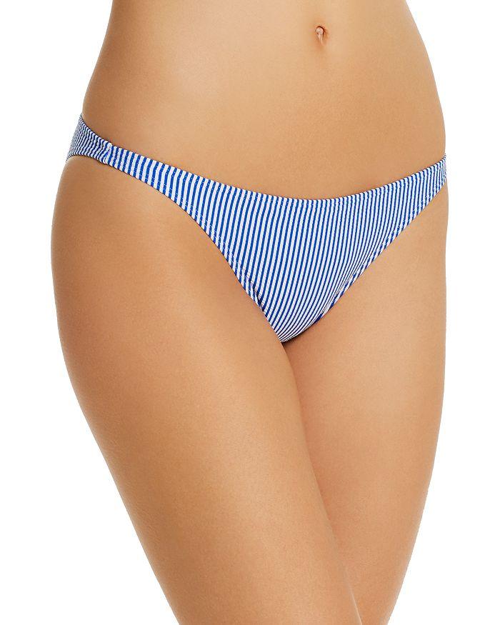 Onia - Ashley Striped Bikini Bottom