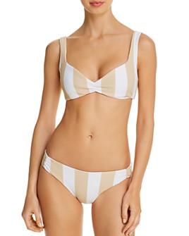 TAVIK - Pia Bikini Top & Carolee Ribbed Bikini Bottom