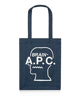 A.P.C. - x Brain Dead Denim Tote