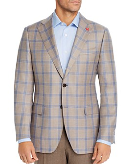 Cardinal Of Canada - Windowpane Plaid Regular Fit Sport Coat - 100% Exclusive