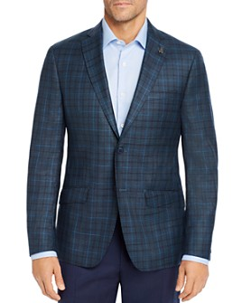 Psycho Bunny - Tonal Plaid Regular Fit Sport Coat